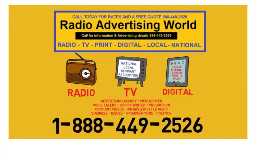 Advertising Keywords that work for Radio, TV, Online – media buyers